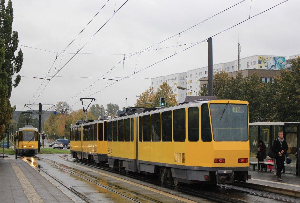 Трамваї Tatra_KT4DM в Берліні