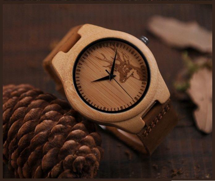 Тренд весни 2018 - унікальний годинник з дерева, фото-1