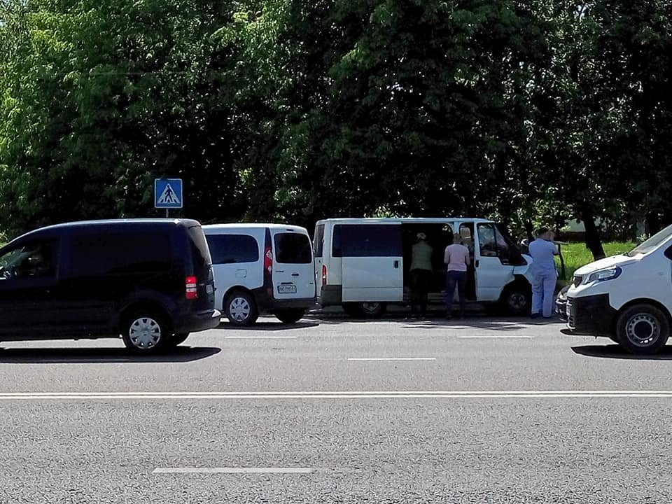 У Львові сталася ДТП за участі патрульних: постраждали 3 людей. Фото з місця аварії, фото-4, Фото: Ігор Зінкевич/Facebook.com