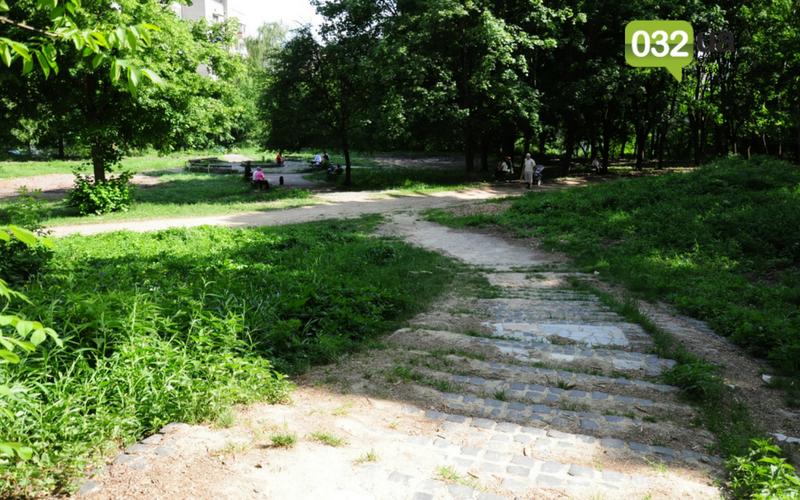 Як виглядає Замарстинівський парк у Львові: очікування - реальність, - ФОТО, фото-9