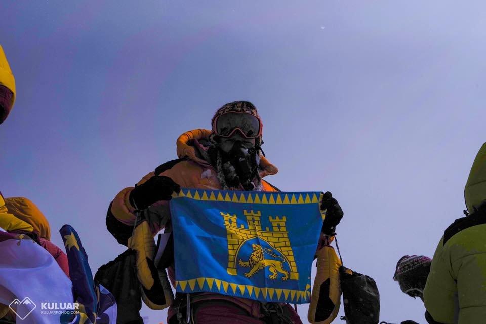 Прапор Львова на вершині Евересту: фото тижня, фото-1