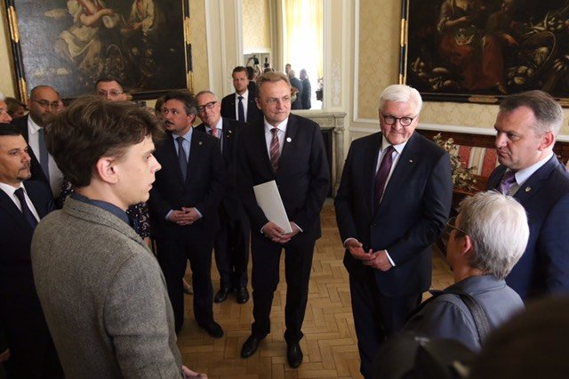 Президент Німеччини прибув до Львова, - ФОТО, фото-1, Фото: ЛМР