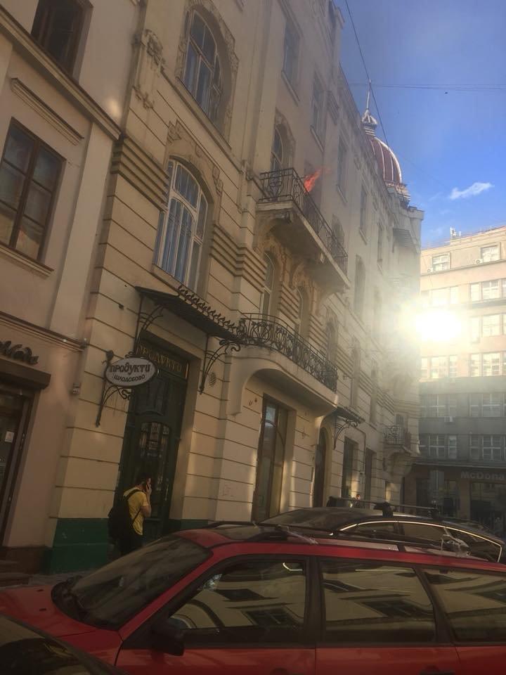 У Львові на вулиці Чайковського горіла квартира, - ФОТО, фото-1, Фото: Ігор Зінкевич/Варта-1