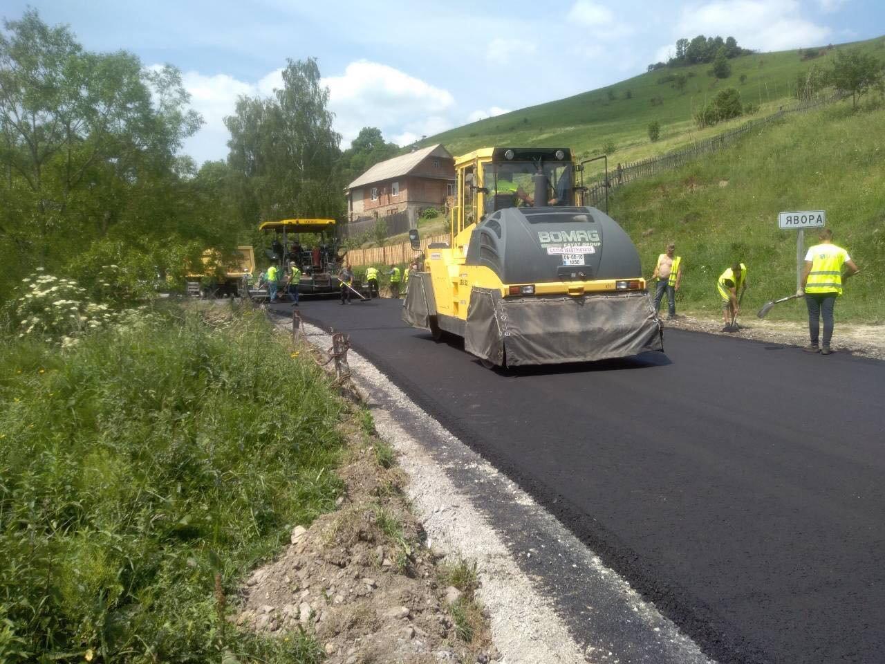 На Львівщині ремонтують дорогу «Турка-Східниця», - ФОТО, фото-2, Фото: ЛОДА