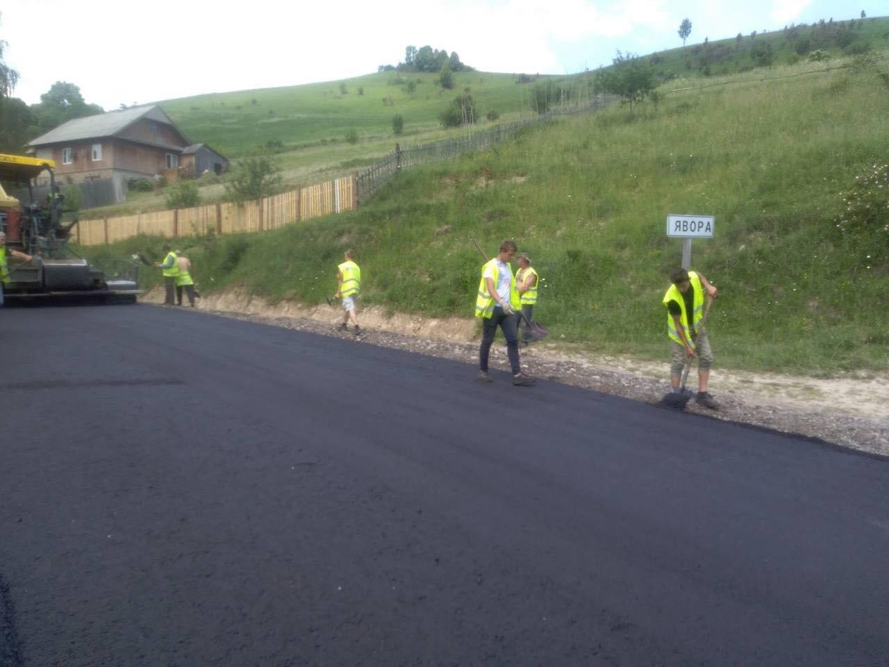 На Львівщині ремонтують дорогу «Турка-Східниця», - ФОТО, фото-6, Фото: ЛОДА
