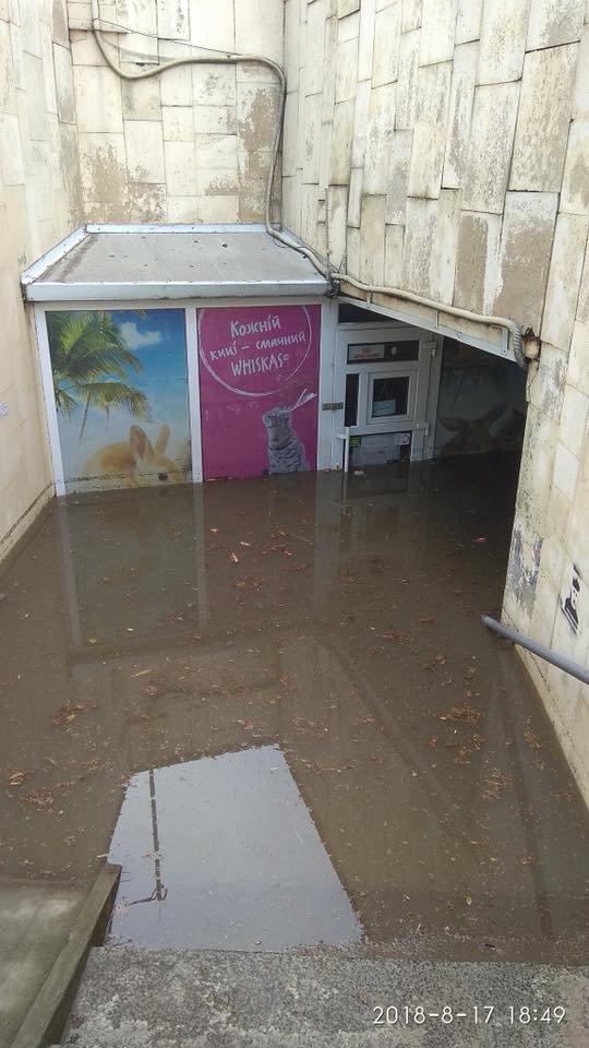У Львові масштабна злива зупинила рух транспорту й затопила вулиці, - ФОТО, фото-31