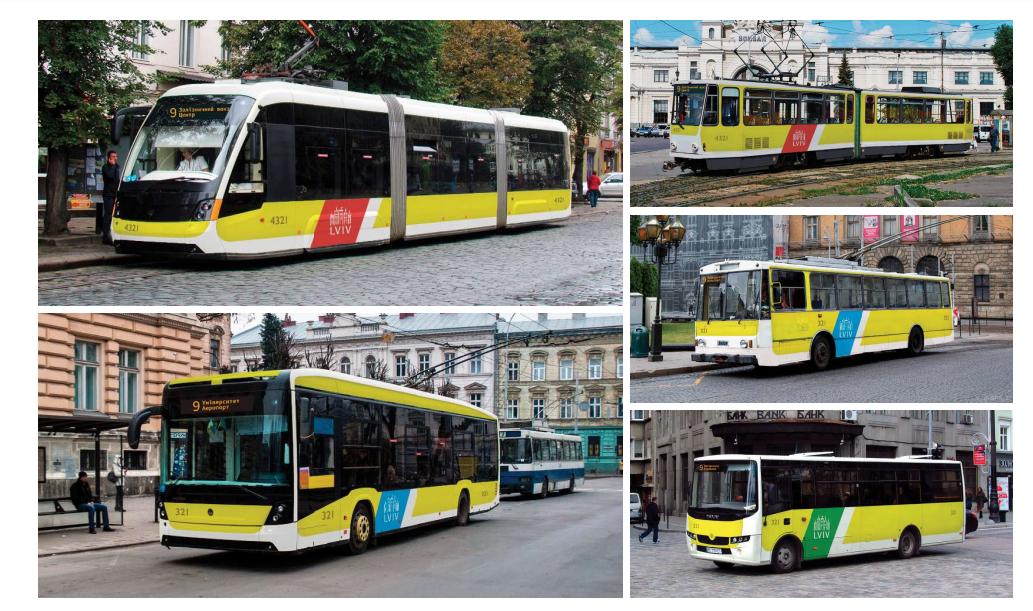 Як у Львові брендуватимуть громадський транспорт: 4 варіанти, - ВІЗУАЛІЗАЦІЯ, фото-1