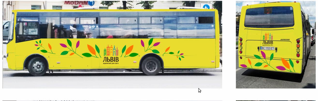 Як у Львові брендуватимуть громадський транспорт: 4 варіанти, - ВІЗУАЛІЗАЦІЯ, фото-3
