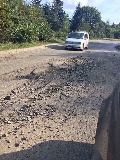 Дорога Східниця - Борислав, фото надані учасниками акції