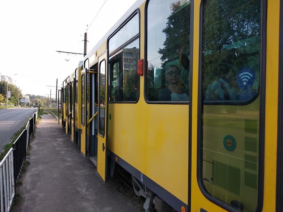 У Львові почав курсувати перший вживаний берлінський трамвай, - ФОТО, фото-2, Фото: Андрій Білий/Facebook.com