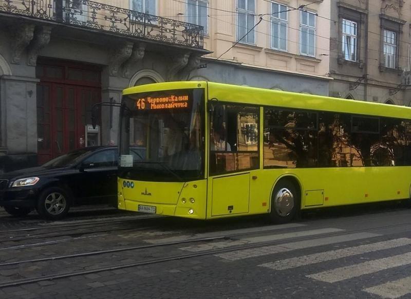 Зранку у Львові на маршрути виїхали 7 нових автобусів МАЗ, фото-1