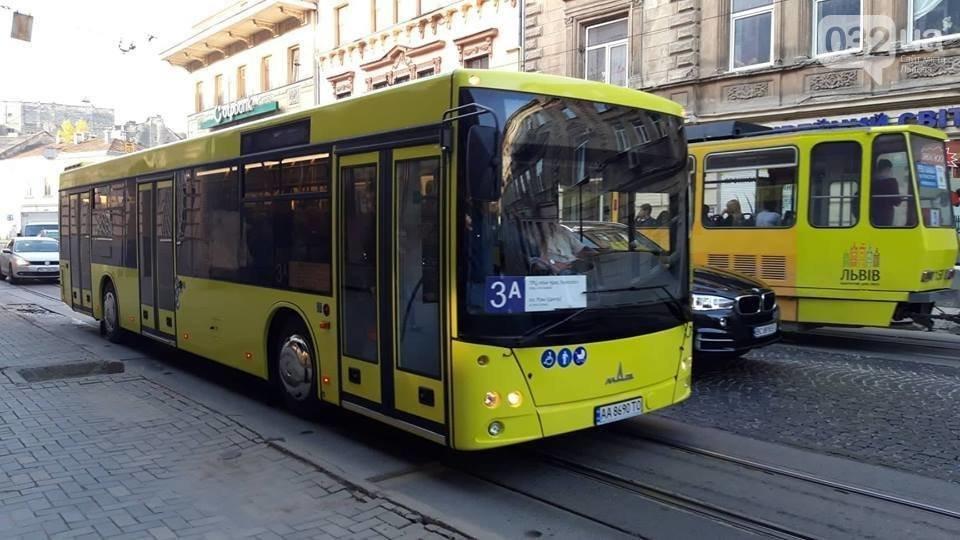 На яких маршрутах курсують нові автобуси виробництва МАЗ у Львові , фото-1