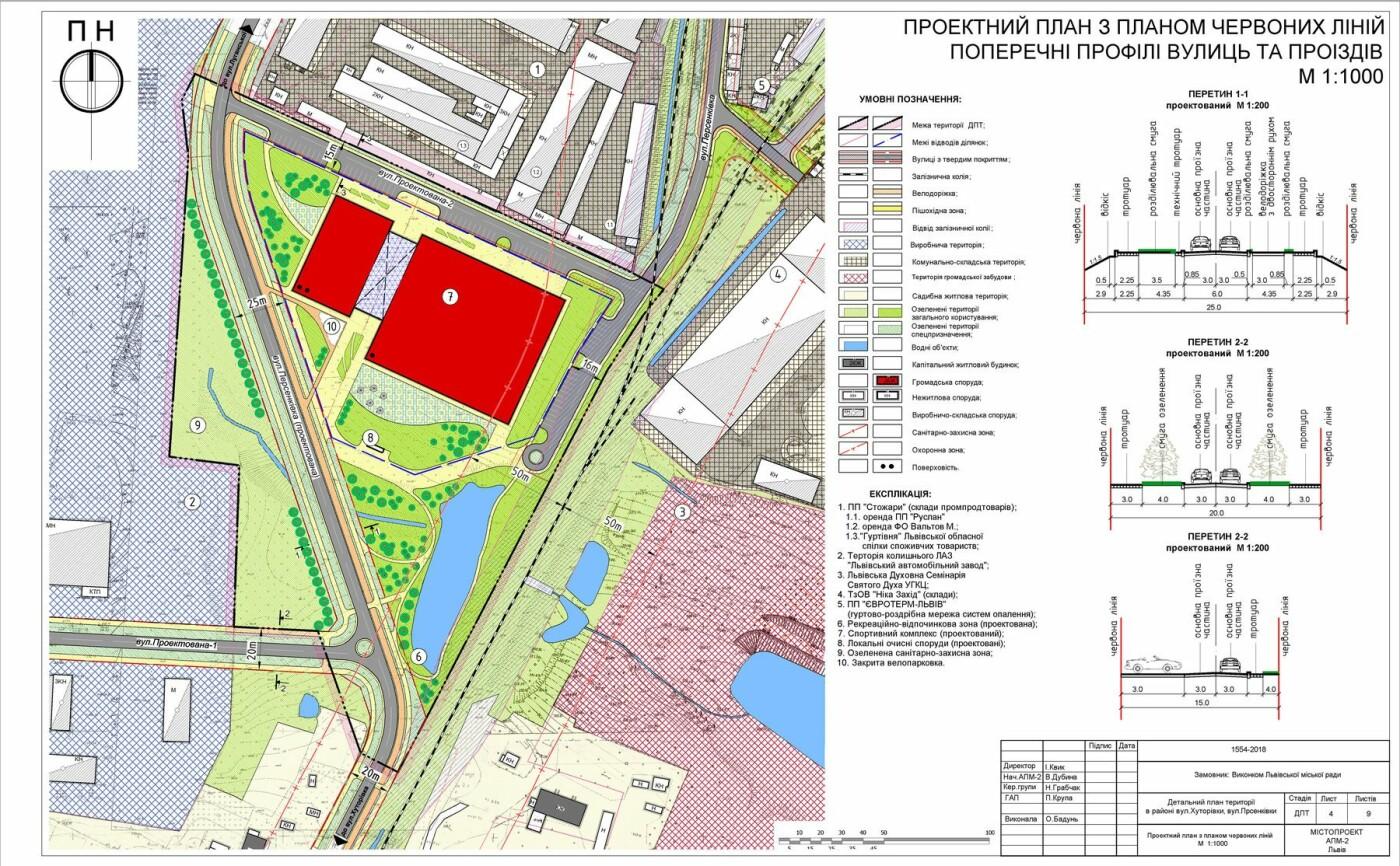 Спортивний комплекс та нова дорога: як в УКУ хочуть змінити простір в районі вулиць Персенківки-Хуторівки, фото-2, Візуалізація: сайт ЛМР