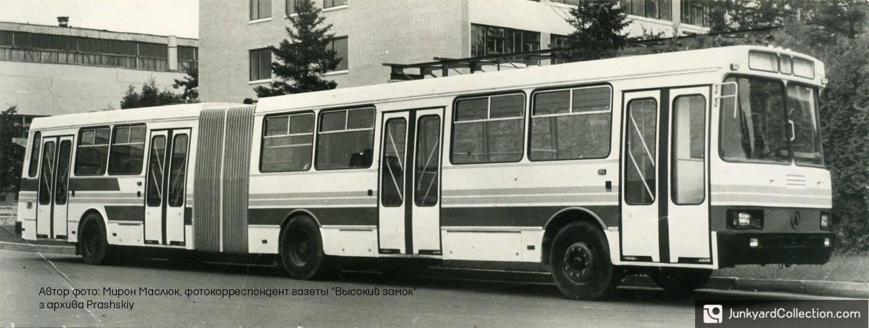 Фотографії старого Львова: ТОП-10 світлин автобусів львівського виробництва, фото-4
