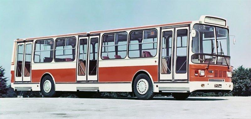Фотографії старого Львова: ТОП-10 світлин автобусів львівського виробництва, фото-12
