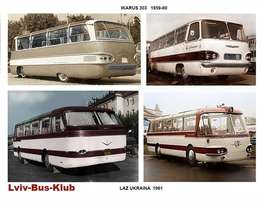 Фотографії старого Львова: ТОП-10 світлин автобусів львівського виробництва, фото-10