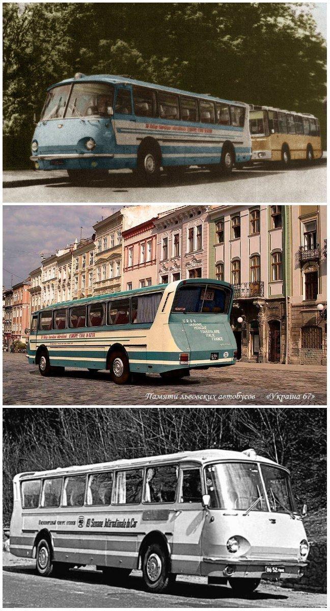 Фотографії старого Львова: ТОП-10 світлин автобусів львівського виробництва, фото-9