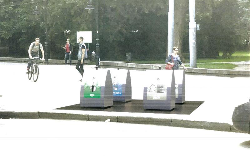 У центрі Львова встановлять підземні контейнери для сміття, - ВІЗУАЛІЗАЦІЯ, фото-1