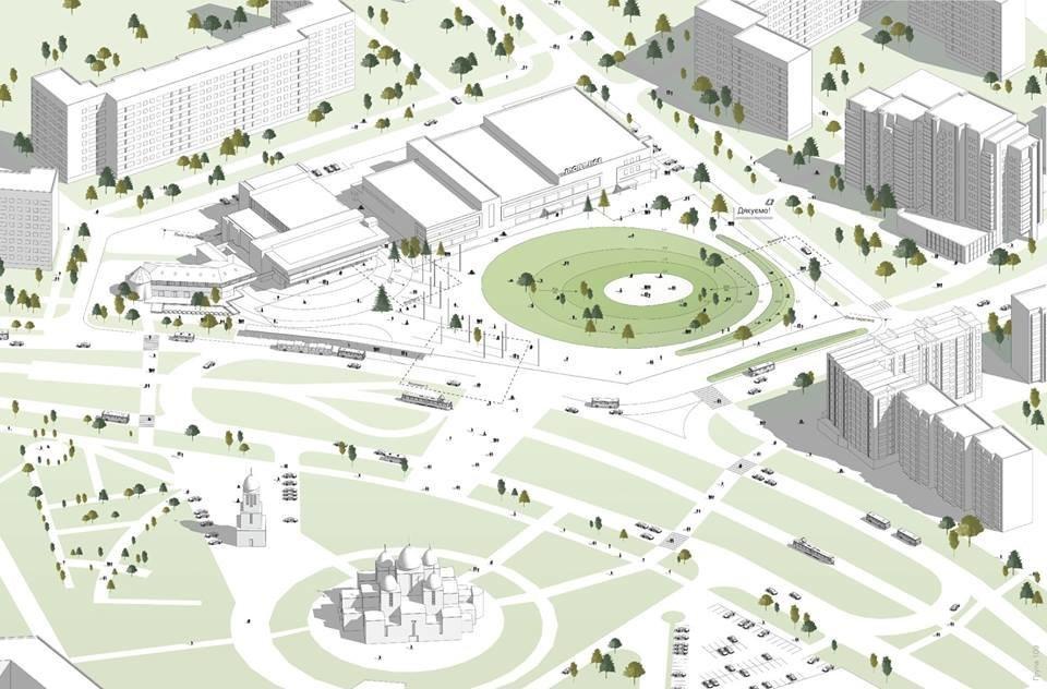 У Львові просять провести реконструкцію площі Довженка та облаштувати громадський простір, фото-2