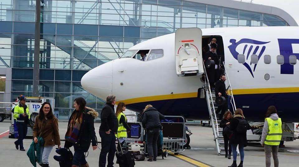 """Сьогодні Ryanair відкрив рейс зі Львова до Лондона, - ФОТО, фото-2, Фото: Міжнародний аеропорт """"Львів"""""""