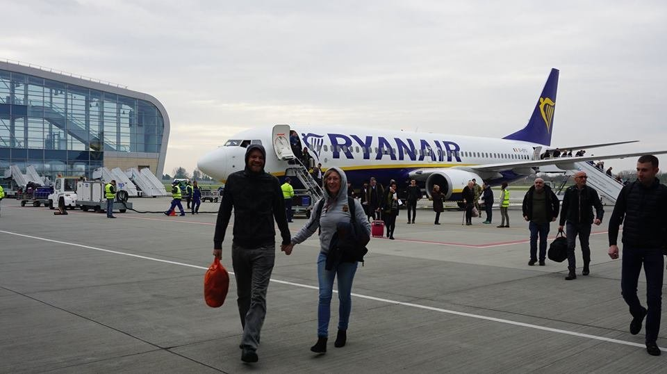 """Сьогодні Ryanair відкрив рейс зі Львова до Лондона, - ФОТО, фото-3, Фото: Міжнародний аеропорт """"Львів"""""""