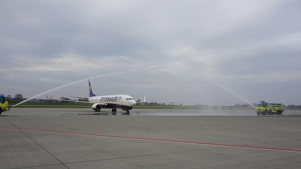 """Сьогодні Ryanair відкрив рейс зі Львова до Лондона, - ФОТО, фото-1, Фото: Міжнародний аеропорт """"Львів"""""""