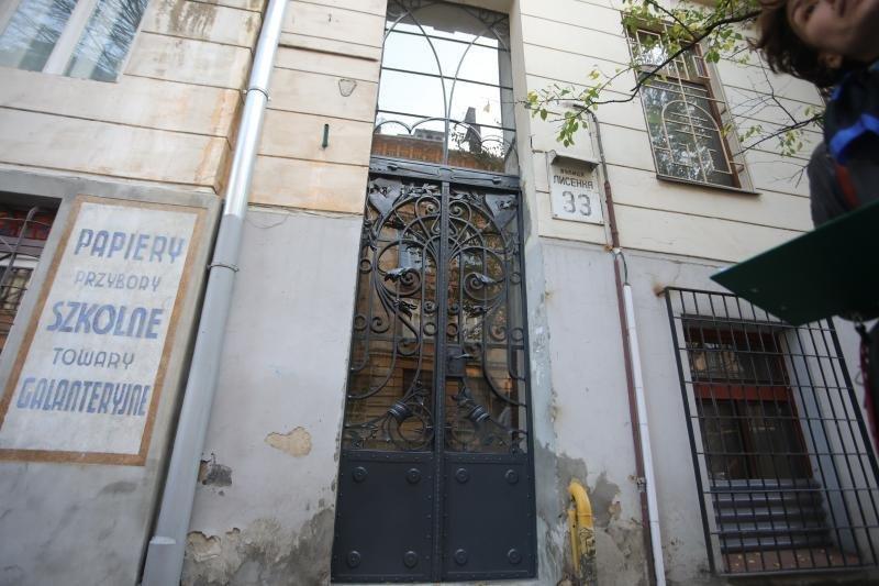У Львові відреставрували металеву браму на вулиці Лисенка, - ФОТО, фото-1, Фото: ЛМР