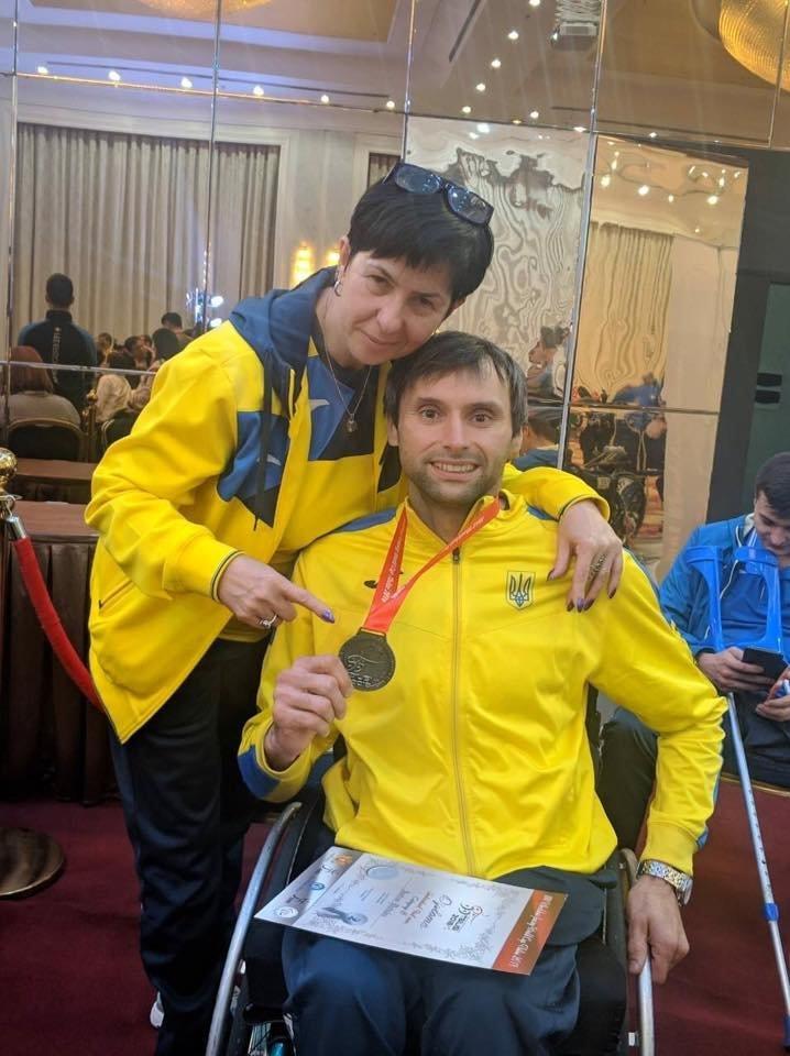 Львів'янка Наталя Морквич стала чемпіонкою на етапі Кубку світу з фехтування на візках, фото-2