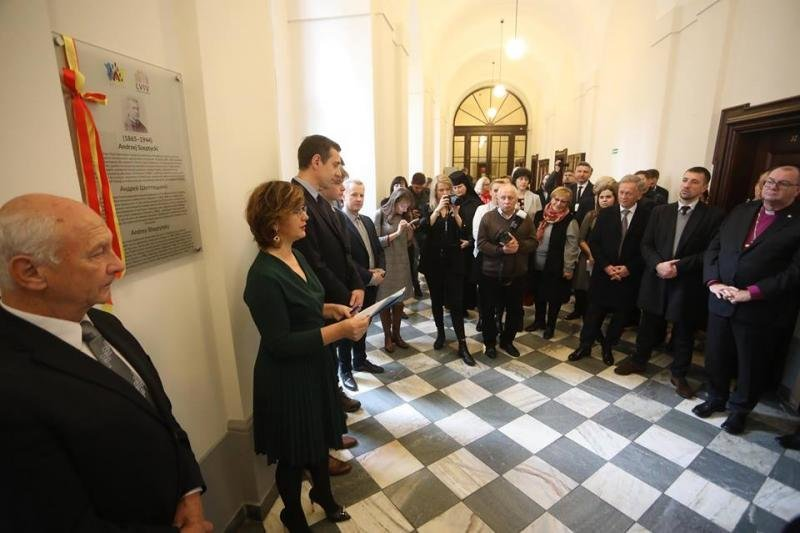 У Вроцлавському університеті відкрили пам'ятну таблицю Митрополиту Андрею Шептицькому, - ФОТО, фото-1, Фото: ЛМР