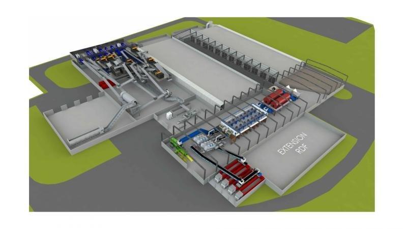 До кінця тижня у Львові оголосять шорт-лист компаній, які зголосились будувати сміттєпереробний завод, фото-2, Візуалізація: ЛМР