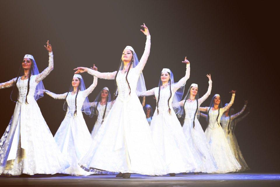 Державний ансамбль пісні і танцю Грузії «KUTAISI» вперше у Львові із новою програмою, фото-1