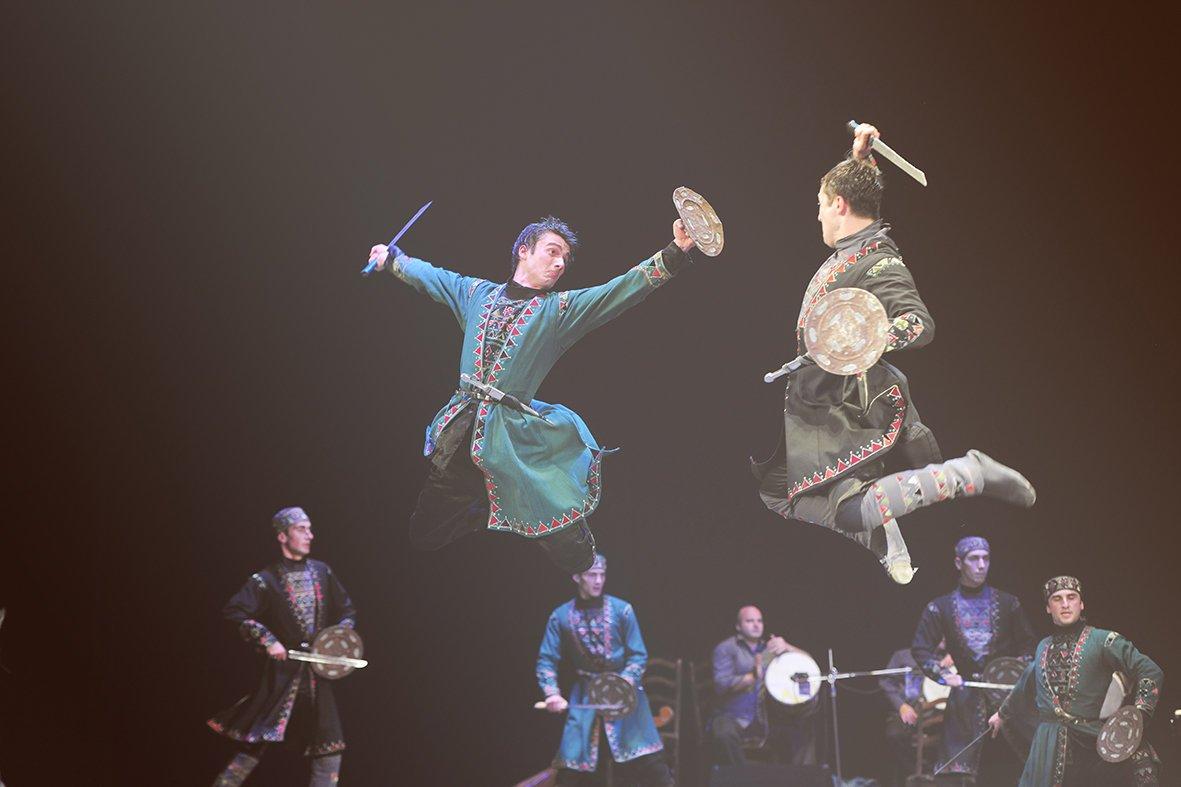 Державний ансамбль пісні і танцю Грузії «KUTAISI» вперше у Львові із новою програмою, фото-3