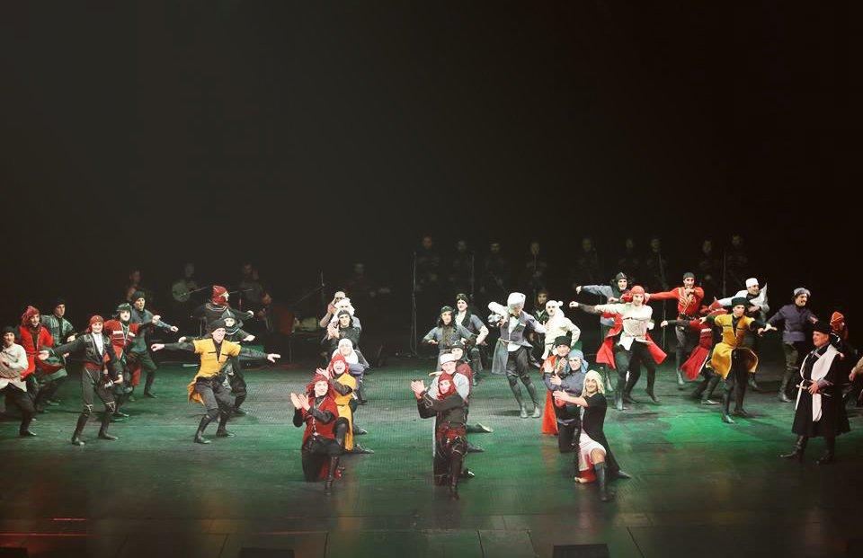 Державний ансамбль пісні і танцю Грузії «KUTAISI» вперше у Львові із новою програмою, фото-2