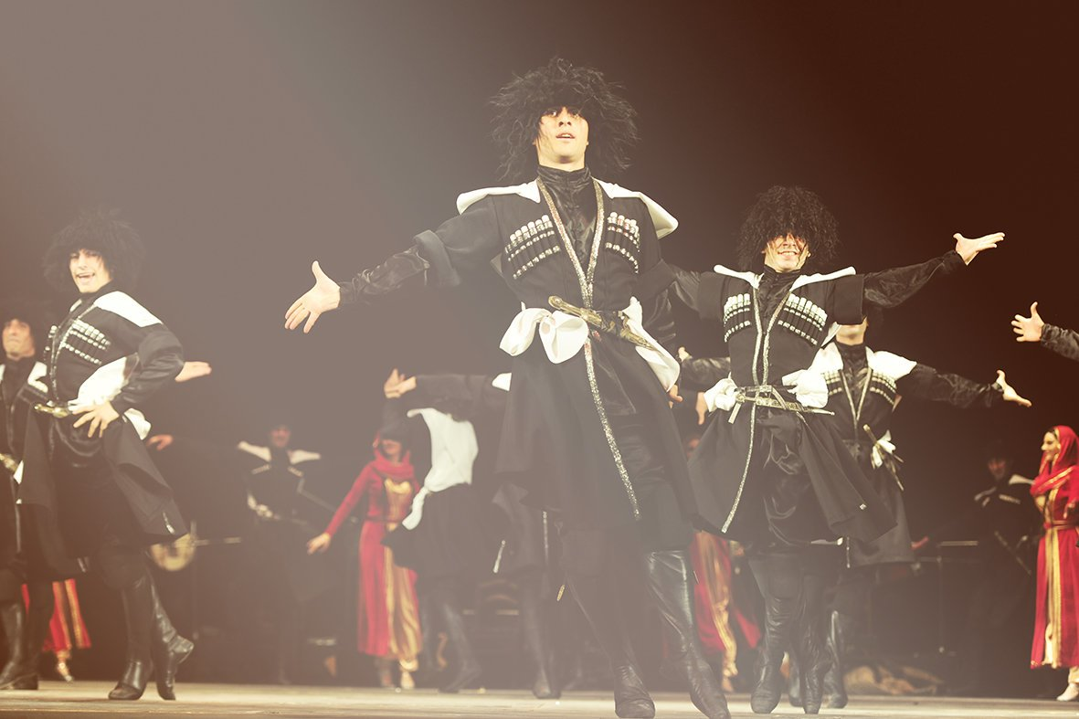 Державний ансамбль пісні і танцю Грузії «KUTAISI» вперше у Львові із новою програмою, фото-4