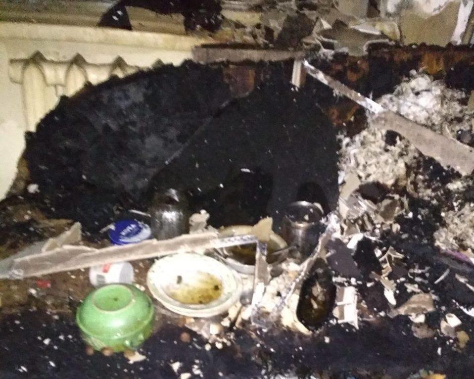 В результаті пожежі в житловому будинку на Сихові загинула 61-річна жінка, - ФОТО, фото-1, Фото прес-служби ГУ ДСНС України у Львівській області