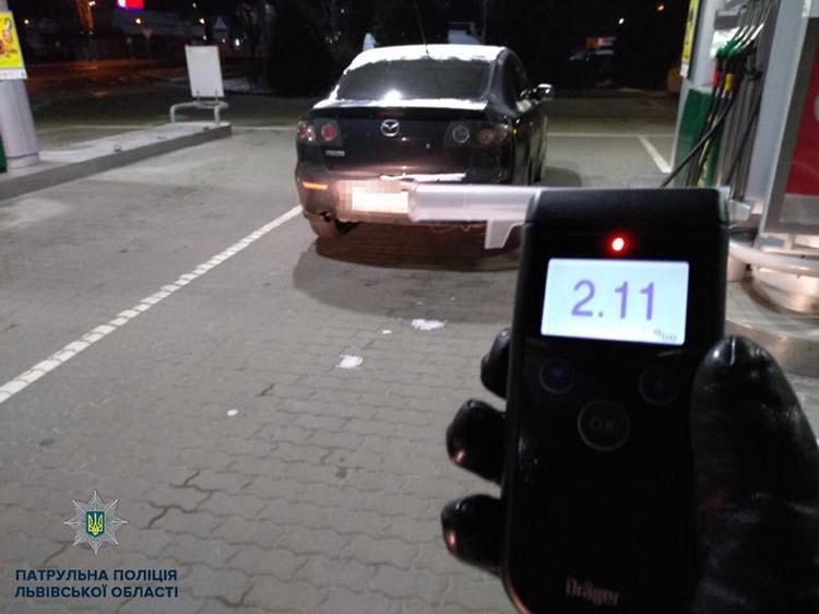 За ніч львівські патрульні зупинили 14 нетверезих водіїв, фото-1