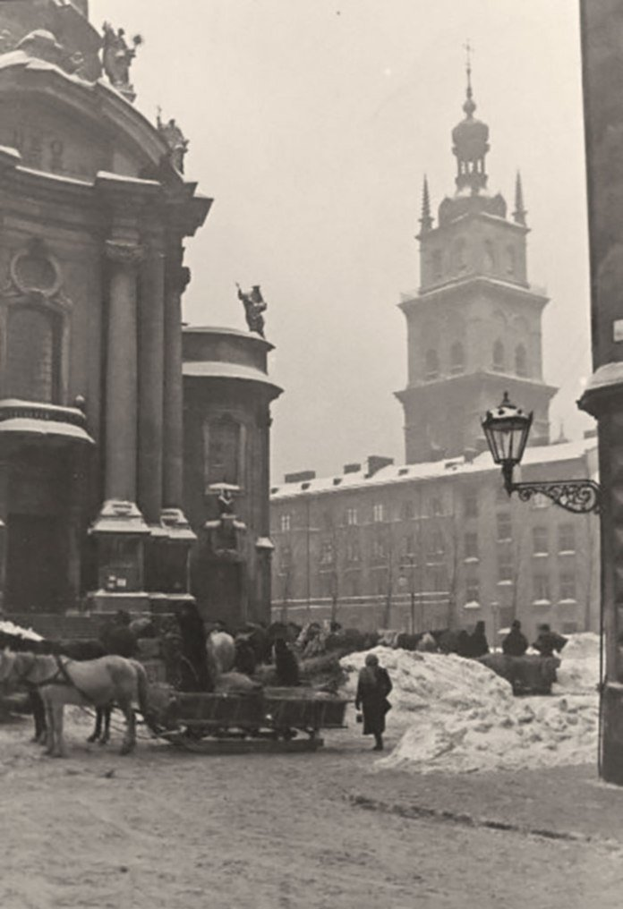 Метрові снігові замети: якою колись була зима у Львові, - ФОТО, фото-5
