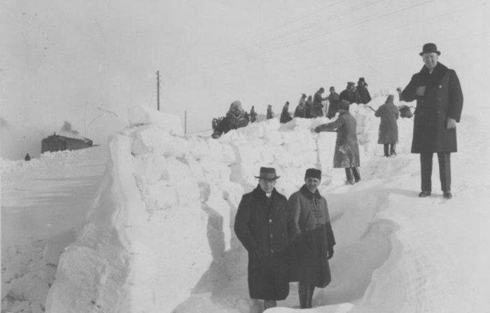 Метрові снігові замети: якою колись була зима у Львові, - ФОТО, фото-2