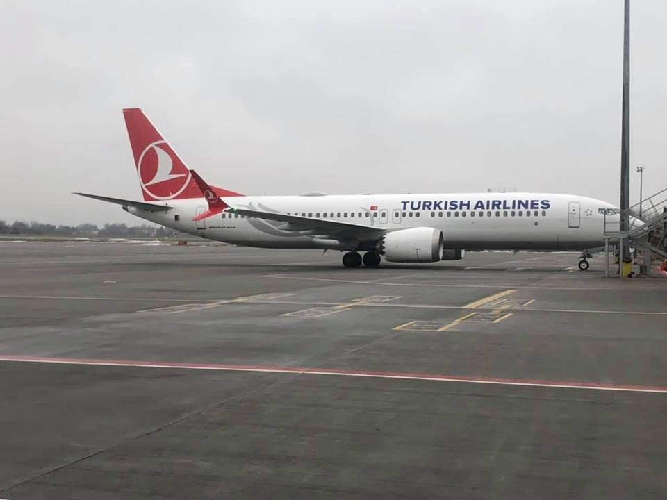 Львівський аеропорт вперше зустрів новий  BOEING 737-8 MAX, фото-1