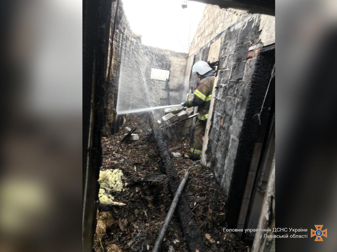 Внаслідок пожежі на Львівщині постраждала 4-річна дитина, - ФОТО, фото-2