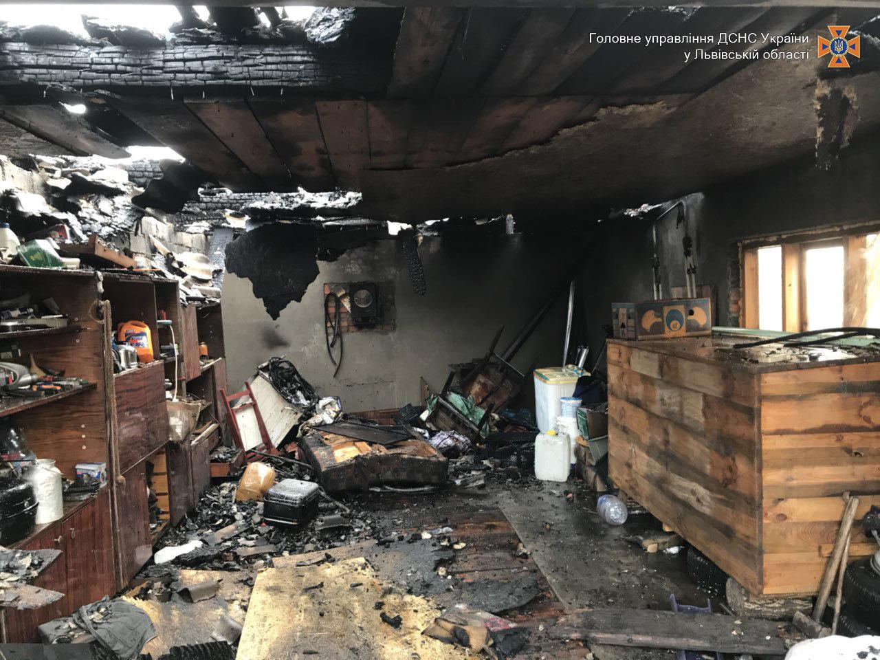 Внаслідок пожежі на Львівщині постраждала 4-річна дитина, - ФОТО, фото-3