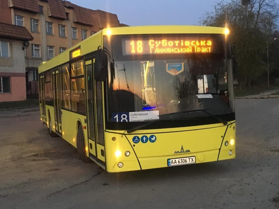 На яких маршрутах у Львові курсують великі автобуси , фото-1