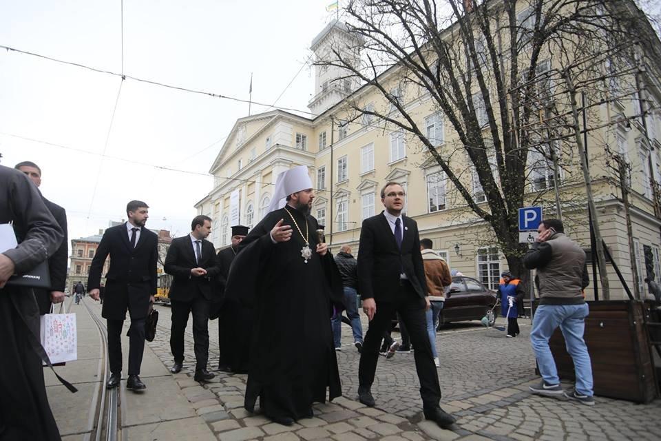 Митрополит Епіфаній у Львові: візит глави ПЦУ у фото, фото-5