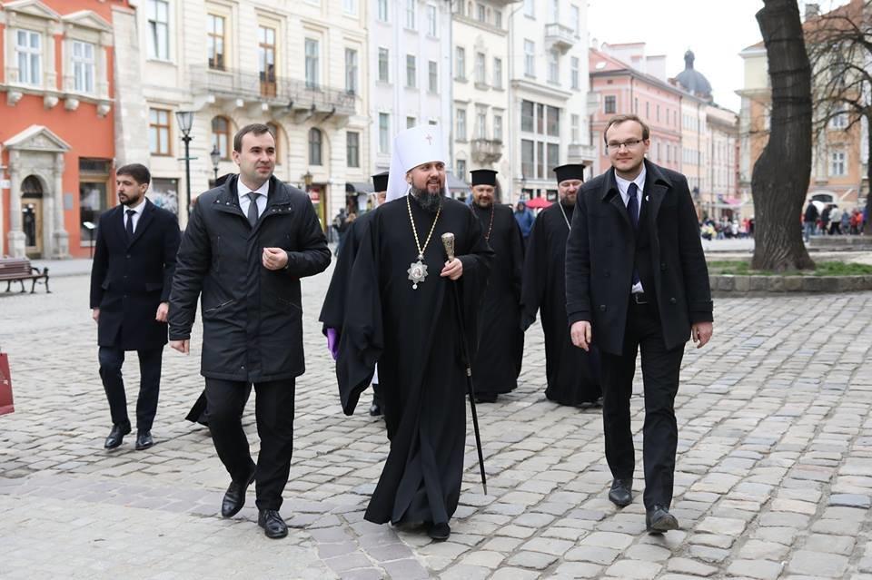 Митрополит Епіфаній у Львові: візит глави ПЦУ у фото, фото-1