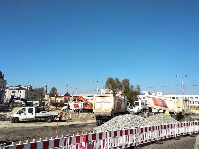 У Львові ремонтують площу Двірцеву, - АКТУАЛЬНІ ФОТО, фото-4, Фото: ЛМР