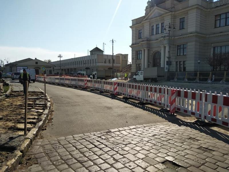 У Львові ремонтують площу Двірцеву, - АКТУАЛЬНІ ФОТО, фото-5, Фото: ЛМР