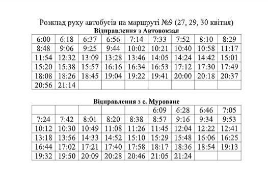 На Великдень у Львові автобуси курсуватимуть за спеціальними графіками, фото-3