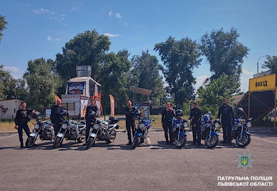 Львів патрулюватимуть копи на мотоциклах, фото-4, Фото: патрульна поліція Львівщини
