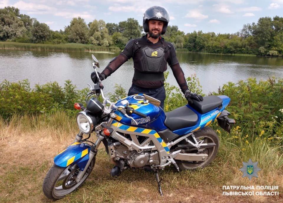 Львів патрулюватимуть копи на мотоциклах, фото-3, Фото: патрульна поліція Львівщини