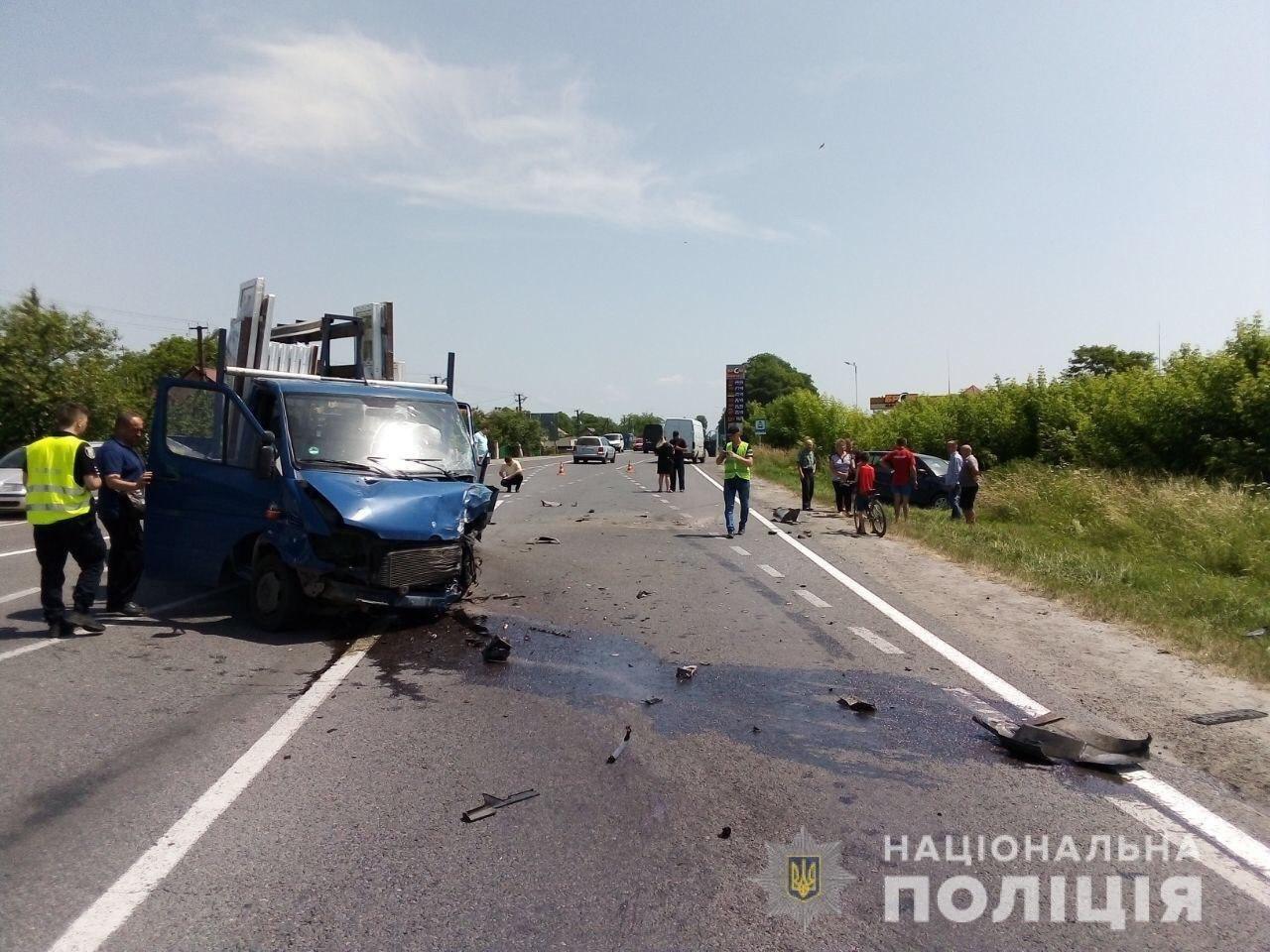 6 резонансних ДТП, які сталися у Львові та неподалік нього, за підсумками червня, фото-1